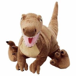 IKEA イケア ソフトトイ ぬいぐるみ 恐竜 ヴェロキラプトル44 cm n00471203 JATTELIK イェッテリク