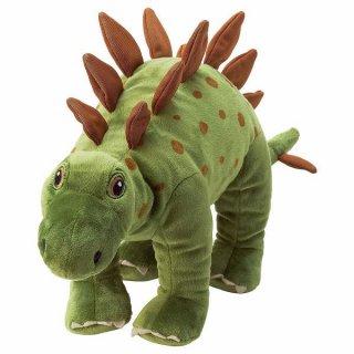 IKEA イケア ソフトトイ ぬいぐるみ 恐竜 ステゴサウルス50 cm n60471219 JATTELIK イェッテリク