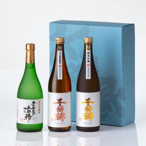 【日本酒】ギフトセット CNN-40(720ml×3)