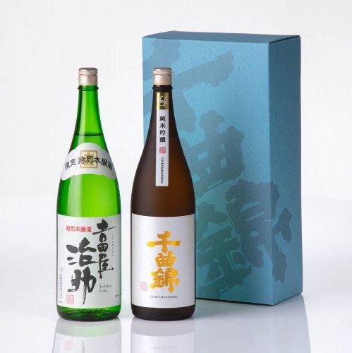 【日本酒】ギフトセット JJ-60(1800ml×2)