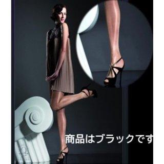 20デニールのグロスストッキング 【Lサイズ】【カラー・ブラック】