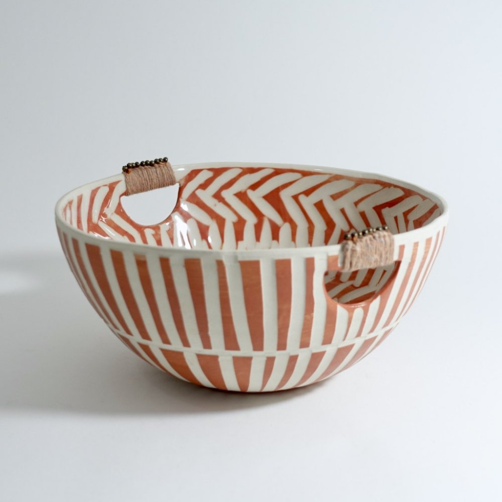 terracota bowl