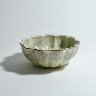 粉引輪花鉢 4.5寸