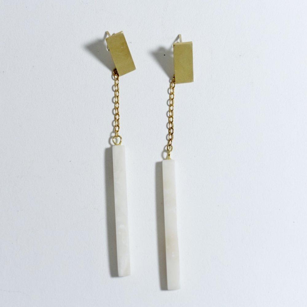 ingot earrings