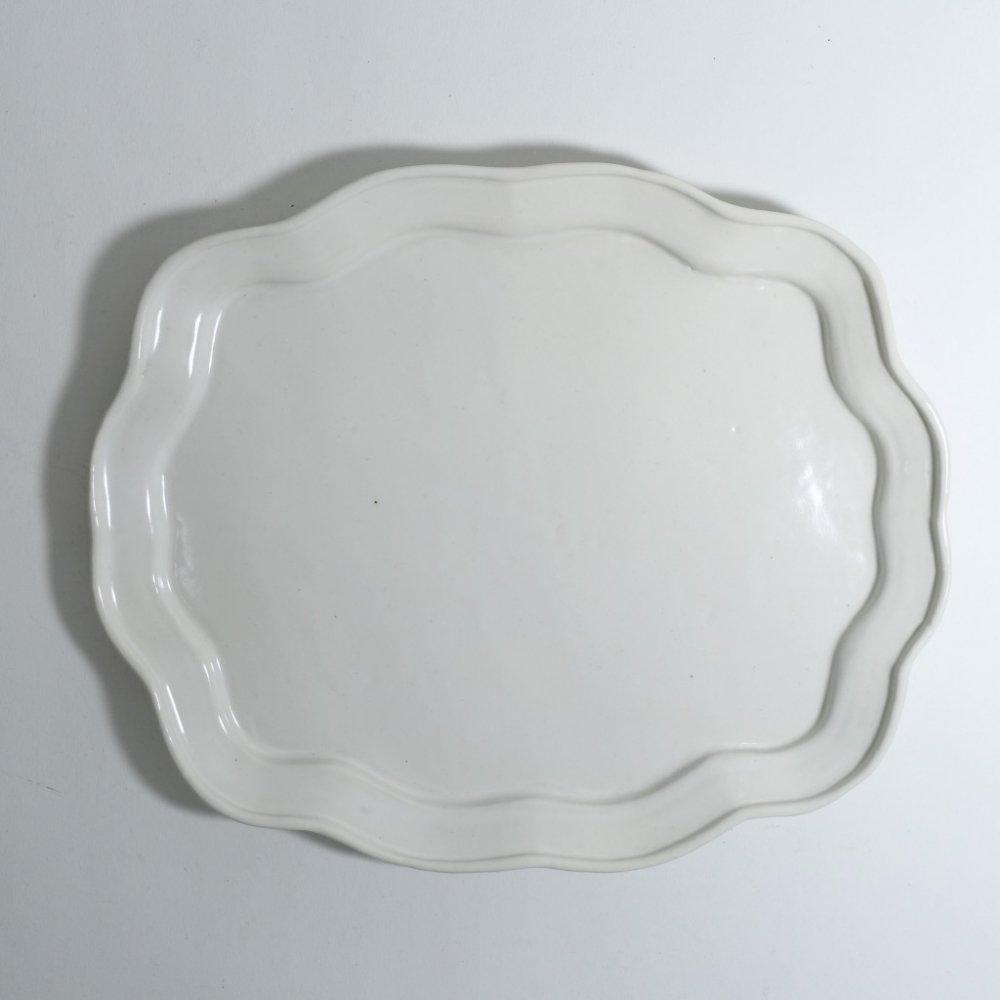 葉形皿 M