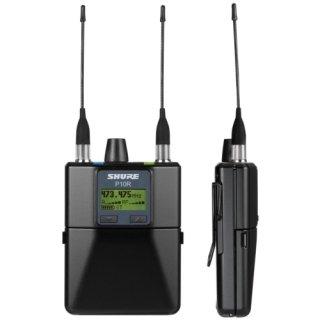 SHURE P10R-XX 新周波数帯域  ※正規品・メーカー保証2年