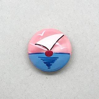 ヴィンテージボタン  ヨット