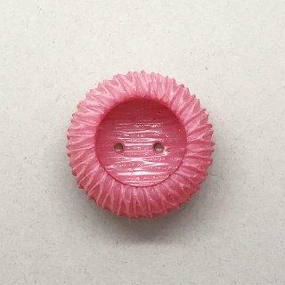 ヴィンテージボタン  ピンク