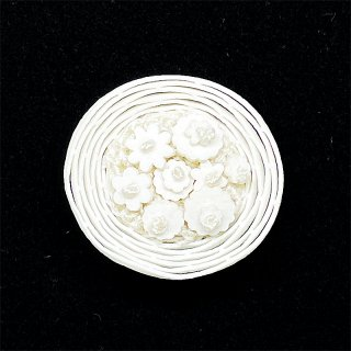 【sumie】花かごボタン 1