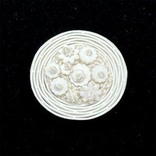 【sumie】花かごボタン 2