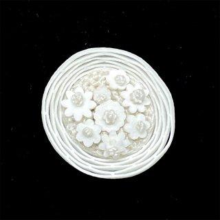 【sumie】花かごボタン 4