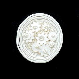 【sumie】花かごボタン 5