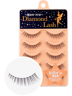 DiamondLash Nudy Sweet Series ヒロインeye