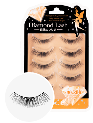 DiamondLash Orange Diamond series 206