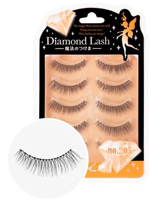 DiamondLash Orange Diamond series 205