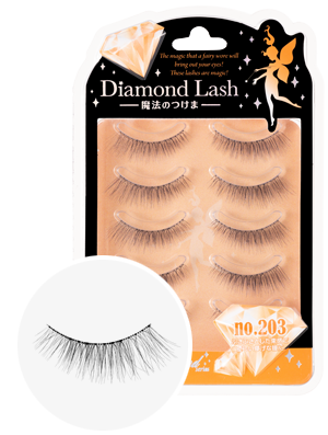 DiamondLash Orange Diamond series 203