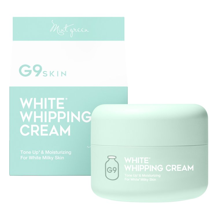 G9 ホワイトホイッピングクリーム ミント