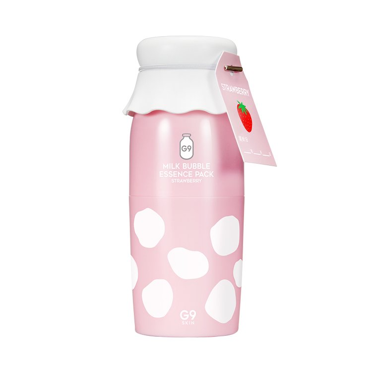 G9 BUBBLE ESSENCE PACK STRAWBERRY