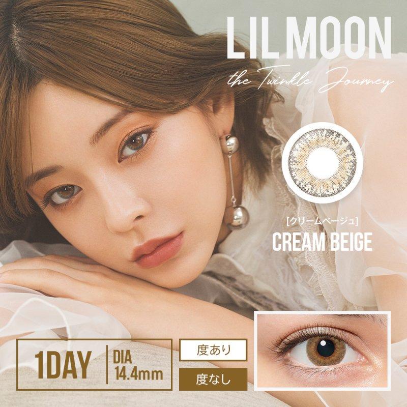 LILMOON 1day(10)/クリームベージュ