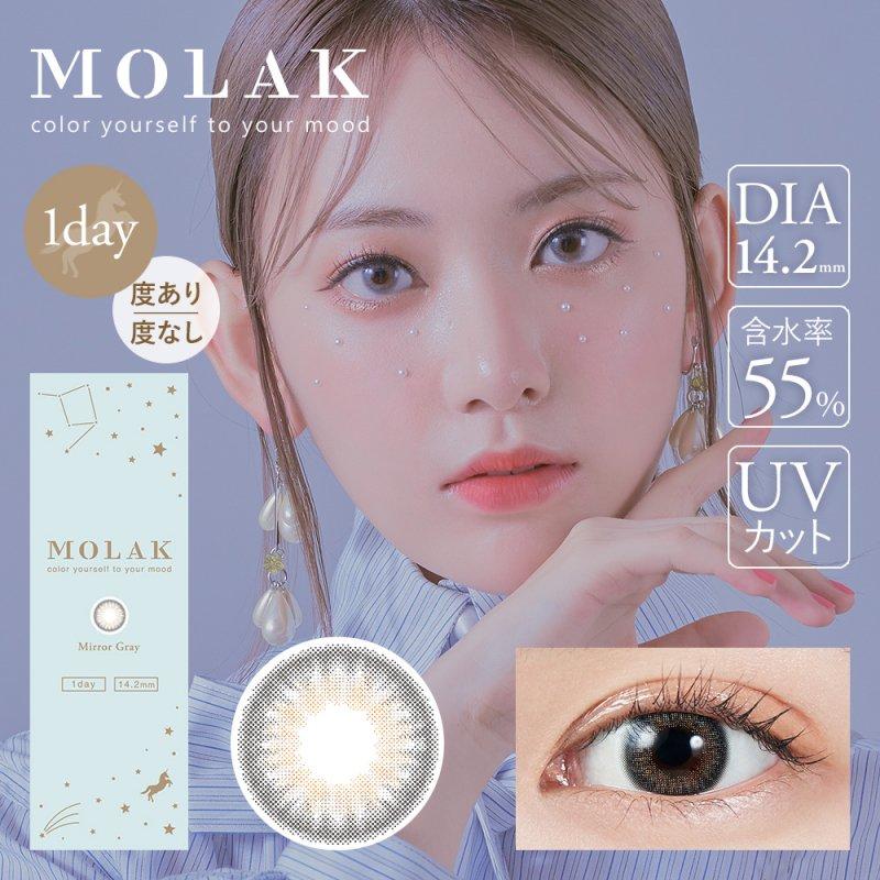 MOLAK 1day(10)/ ミラーグレー