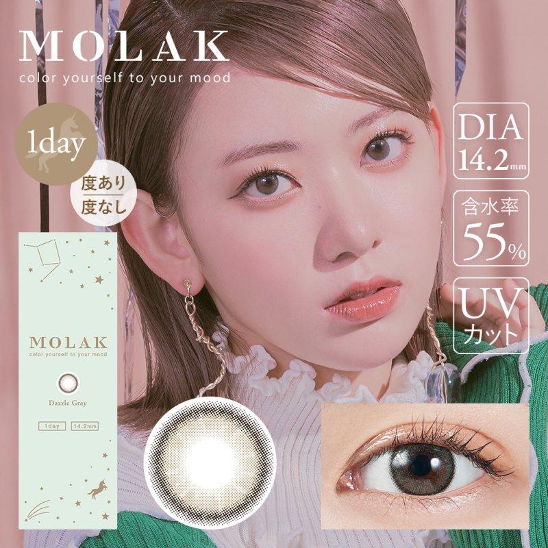 MOLAK 1day(10)/ダズルグレー