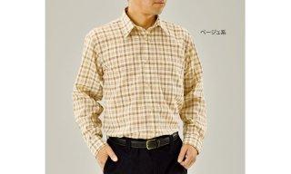 サマーウール長袖シャツ