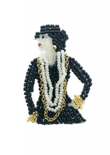 Coco Chanel ブローチ