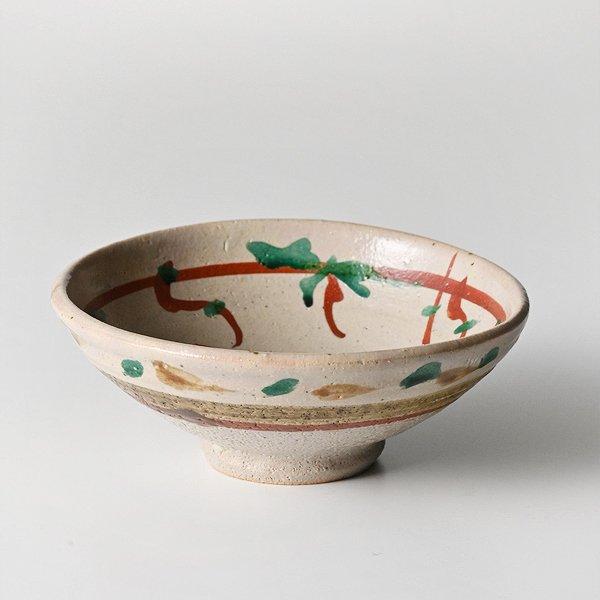 濱田庄司 『地釉赤絵茶碗』