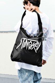 Metal Logo Shoulder Bag