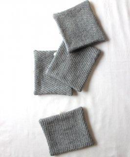 コースター 両面綾織