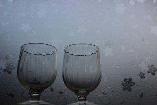 くるみ ポートワイングラス / 細