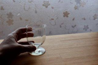 くるみ ポートワイングラス / 太