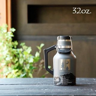 モリアソビがセレクトする父の日ギフト DrinkTanks 真空断熱グラウラー 32oz(0.94L) (モリアソビロゴ入り)