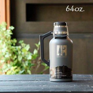 モリアソビがセレクトする父の日ギフト DrinkTanks 真空断熱グラウラー 64oz(1.9L) (モリアソビロゴ入り)