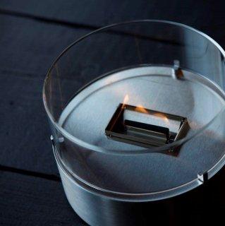 モリアソビがセレクトする父の日ギフト 卓上暖炉 Mサイズ  Tender flame カフェ (バイオユニフェール500㎖セット)
