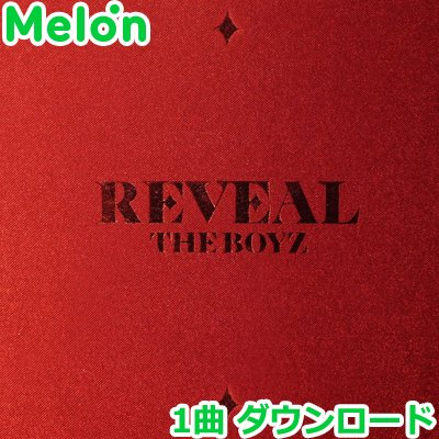 Melon ダウンロード証明書 THE BOYZ REVEAL