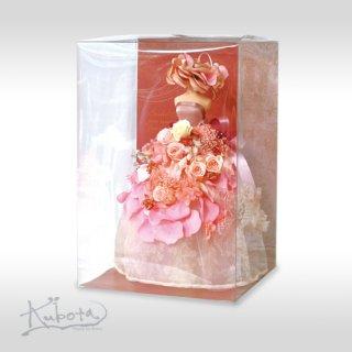 プリザ DE ドレス ピンク
