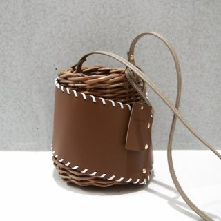 Protect stitch Basket #Brown<img class='new_mark_img2' src='https://img.shop-pro.jp/img/new/icons54.gif' style='border:none;display:inline;margin:0px;padding:0px;width:auto;' />