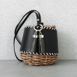 Protect stitch Basket #Black(Tassel Set)<img class='new_mark_img2' src='https://img.shop-pro.jp/img/new/icons54.gif' style='border:none;display:inline;margin:0px;padding:0px;width:auto;' />
