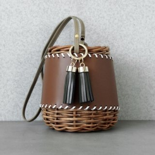 Protect stitch Basket #Brown(Tassel Set)<img class='new_mark_img2' src='https://img.shop-pro.jp/img/new/icons54.gif' style='border:none;display:inline;margin:0px;padding:0px;width:auto;' />