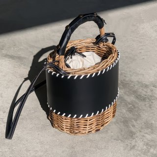 Protect stitch Basket - Middle #Black<img class='new_mark_img2' src='https://img.shop-pro.jp/img/new/icons3.gif' style='border:none;display:inline;margin:0px;padding:0px;width:auto;' />