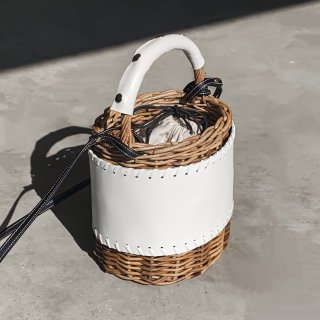 Protect stitch Basket - Middle #White<img class='new_mark_img2' src='https://img.shop-pro.jp/img/new/icons3.gif' style='border:none;display:inline;margin:0px;padding:0px;width:auto;' />