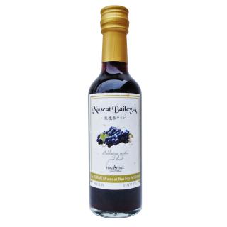山形県産MuscatBaileyA100%赤ワイン250ml
