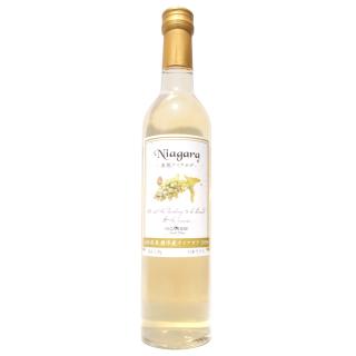 山形県産ナイアガラ100%白ワイン500ml
