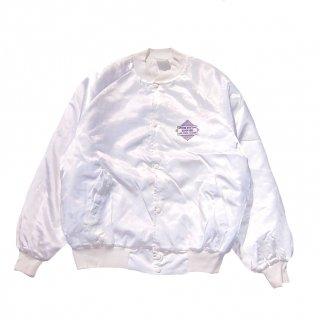 NYLON BASEBALL JACKET(white)