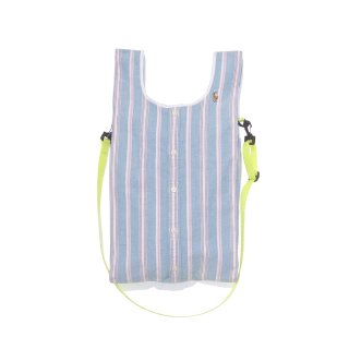 <img class='new_mark_img1' src='https://img.shop-pro.jp/img/new/icons47.gif' style='border:none;display:inline;margin:0px;padding:0px;width:auto;' />Stripes Shoulder bag (Emerald Green)