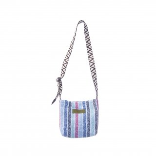 <img class='new_mark_img1' src='https://img.shop-pro.jp/img/new/icons15.gif' style='border:none;display:inline;margin:0px;padding:0px;width:auto;' />Baja Mini Bag (Blue Stripe)