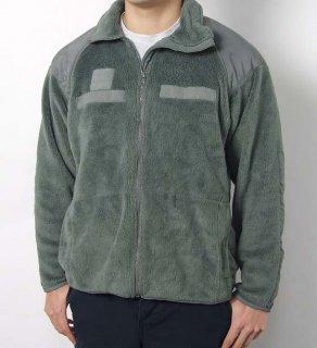 アメリカ軍 フォリッジグリーン POLARTEC ECWCS GEN3 LEVEL3 フリースジャケット(USED)A31FU