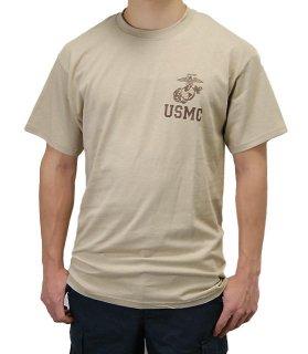 US.マリーン、サンドTシャツ(新品)T44NM