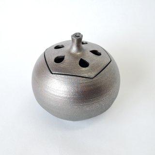 清水焼 炭化香炉(丸型)